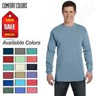 Comfort Colors Mens T-Shirt Long Sleeve Garment Dyed Preshrunk Tee C6014