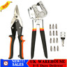More images of Aviation Snips Stud Crimper 1 / 4 Screwdriver Adapter Tool+12x PH2 Screw Bits+Bag