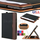 For Apple iPad 10.2 7th Generation 2019 Soft Leather Smart Cover Case Sleep Wake