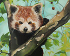 Giclée Fine Art Print of original oil painting Red panda, variety sizes