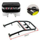 For SUZUKI DRZ400 S/M DRZ400 E Fender Pack Tool Bag & Rear Carrier Luggage Rack
