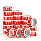 STRONG PACKING TAPE - CLEAR / FRAGILE 48mm x 66m Roll PARCEL PACKING TAPE