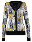 Star Wars New Caricatures Licensed Sweater Cardigan $35.99 USD on eBay