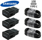 Original Samsung OEM Adaptive Fast Charger + Type C Cable For Galaxy S8 S9 Note8