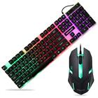 Waterproof Keyboard Mouse Mice Usb Wired Gaming For Hp Lg Pc Laptop Win Xp/7/8