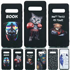 For Samsung S9 S10 S20 S20 Plus Painted Slim Soft Silicone TPU Back Case Cover