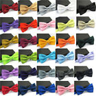 Men Tuxedo Classic Solid Color Butterfly Wedding Party Bowtie Fashion Bow Tie