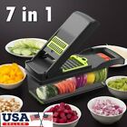 Mandoline Slicer Vegetable Peeler Food Slicer Kitchen Chopper Cutter Friut US
