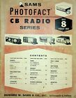 SAMS Photofact CB Radio Series Books
