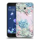 OFFICIAL NATURE MAGICK SUCCULENTS WATERCOLOR HARD BACK CASE FOR HTC PHONES 1