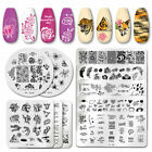 PICT YOU Nail Art Stamping Plates Valentine's Day Letter Stamp Stencil Templates