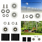 Greenhouse Door Wheel Kit Replacement For Elite/Halls Greenhouse Sliding Doors for sale  Shipping to United Kingdom