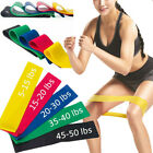 Exercise Bands Resistance Fitness Workout Stretch Elastic Loop Legs Therapy/ image