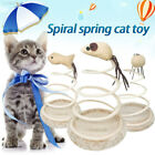 91D5 Disc Spring Cat Toy Funny Cat Toy Bottom Sucker Home Durable