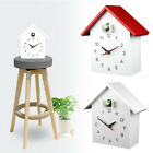 Quartz Movement Chalet Wall Clock Office Coffee Bar Home Decoration Cuckoo Bird