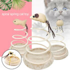 7345 Small Fish Spring Cat Toy Elastic Spring Mouse Kitten Bottom Sucker Durable