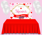 A Little Sweetheart Is On The Way Baby Shower Backdrop