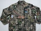 MOSSY OAK Insulated Breakup Country Hunting Camo Water Repellent ZIP UP JACKET