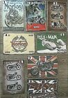 BSA, TRIUMPH, NORTON,  BRITISH MOTORCYCLE TIN SIGNS 210 X 297 (A4) $9.99 AUD on eBay