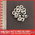 M6 (6mm) Flanged Nut For Metric Bolts and Screws A2 (304 Grade) Stainless Steel