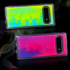 Fluorescent Quicksand Phone Case Protector for Galaxy S10/S10e/S10 P/S9  Sanwood