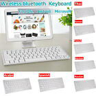 Universal Mini Slim Wireless Keyboard bluetooth For Laptop Window IOS / Android