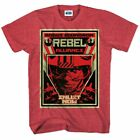 Star Wars Rogue Squadron T-Shirt Red Heather $14.95 USD on eBay