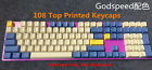 104 Key Godspeed Thick PBT Keycaps OEM Profile for Cherry MX Mechanical Keyboard picture