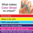 COLOR STREET * NAIL POLISH STRIPS * NEW * FULL SETS * APPLY IN MINUTES