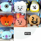 BTS BT21 Official Authentic Goods Flat Face Cushion 250x210mm + Tracking