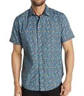 Robert Graham Men's Short Sleeve Forestdale Abstract Pattern Shirt Classic Fit