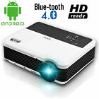 1080P Video Home Theater Projector Android WIFI Blue-tooth Online TV Game HDMI