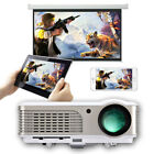 Smart Android HD Projector Video Home Theater Party HDMI USB Miracast Airplay US