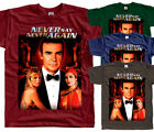 James Bond: Never Say Never Again V6, movie, T-Shirt (BRICK) All sizes S to 5XL $18.0 USD on eBay