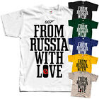 James Bond: From Russia with Love V5, movie, T-Shirt (WHITE) All sizes S to 5XL $18.0 USD on eBay
