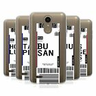 HEAD CASE DESIGNS LUGGAGE TAGS 3 SOFT GEL CASE FOR LG PHONES 1