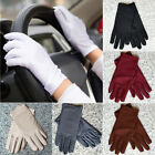 Fashion Women Summer Thin Short Gloves Driving Sunscreen Spandex Gloves
