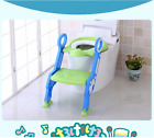 Trainer Toilet Potty Seat Chair Kids Toddler With Ladder Step Up Seat Cushion image