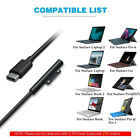 12 15V USB TypeC PD Charger Adapter Cable for Microsoft Surface Pro 4 3 Book US