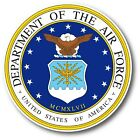 Department Of The Air Force Decal Sticker Usa Made Truck Window Wall Car Laptop