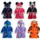 Kyпить Minnie Baby Boys Girls Cartoon Hooded Bathrobe Child Toddler Bathing Towel Robe на еВаy.соm