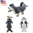 Pet Carnival Costume Dog Cat Shark Fancy Dress Clothes Gift Party Outfit S-XL US