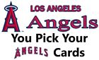 You Pick Your Cards - Los Angeles Angels Team - Baseball Card Selection on Ebay