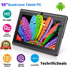 10  Inch Tablet PC Android Quad Core 16GB/32GB HD WIFI Dual Camera WiFi Gift NEW
