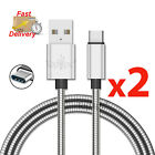 UNBREAKABLE METAL FLEXIBLE FAST USB CHARGING CABLE FOR SAMSUNG IPAD PRO TYPE C