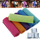 Microfiber Portable Gym Washcloth Sports Towel Fitness Accessories Ice Towels image