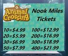 Animal Crossing New Horizons  ~ Nook Miles Ticket~ instant delivery~