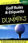Golf Rules & Etiquette For Dummies, Steinbreder 9780764553332 Free Shipping*-