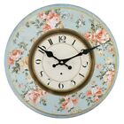 Vintage Rustic Shabby Chic Retro Style Distressed Look 34cm Large Wall Clock