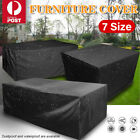 Waterproof Furniture Cover Outdoor Patio Garden Rain Snow Uv Table Chair Sofa Au